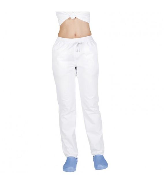 Pantalón Goma y Cordón Blanco