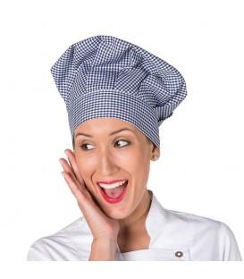 Gorro Gran Chef Vichy con Velcro