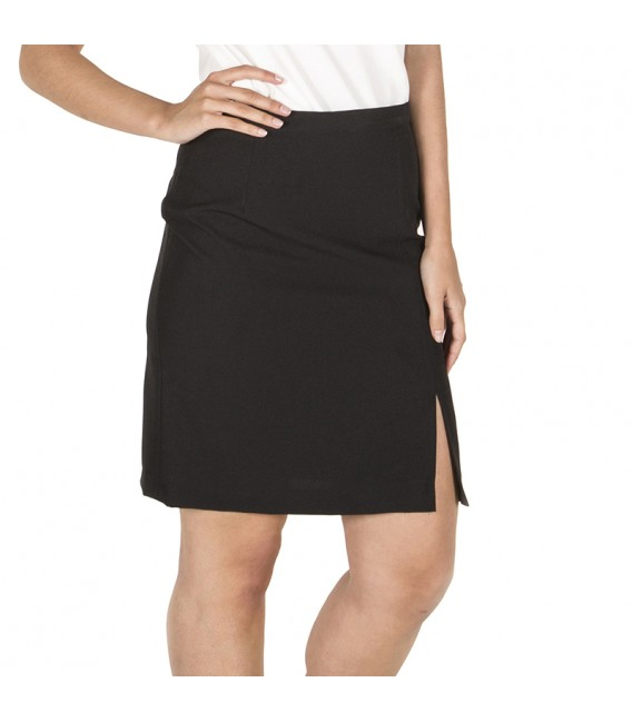 Falda Negra sin Bolsillos